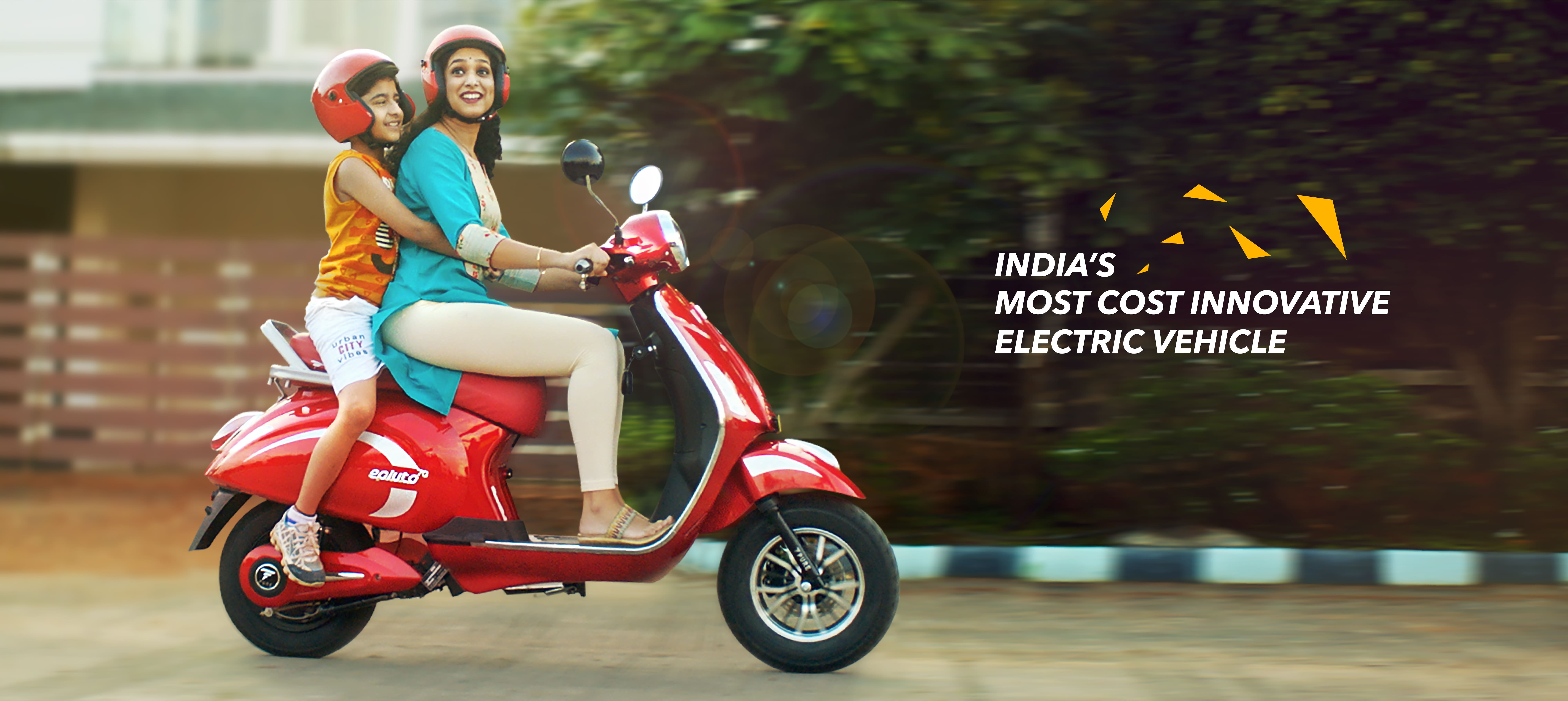 India's most cost innovative electric scooter